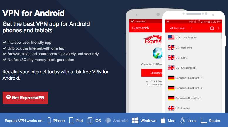 Express Android VPN App
