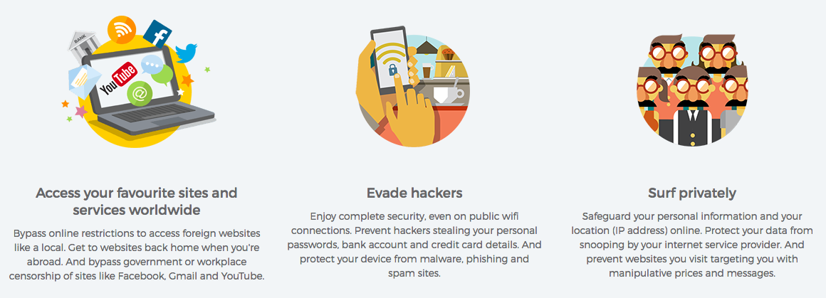 HideMyAss VPN review and features