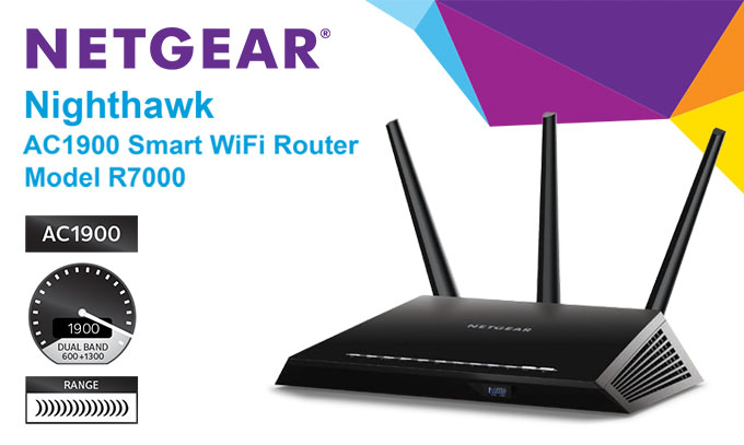 NETGEAR Nighthawk AC1900 VPN Router