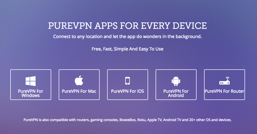 PureVPN for Every Device