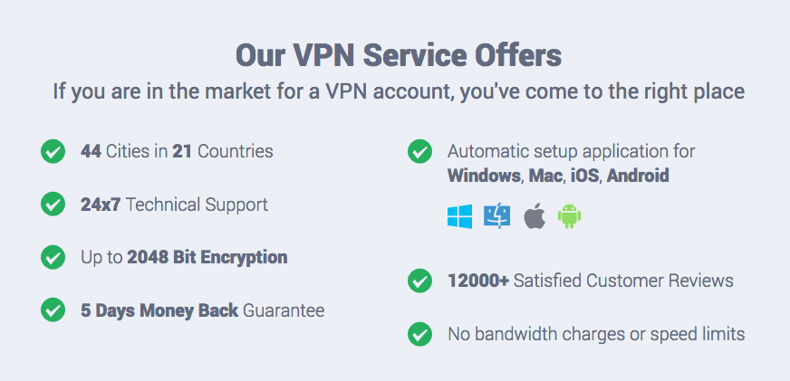 VPN review and features