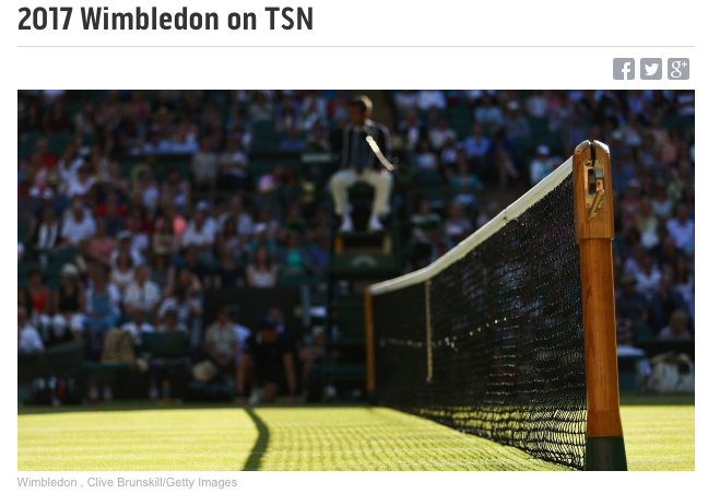 How to stream Wimbledon live online on TSN