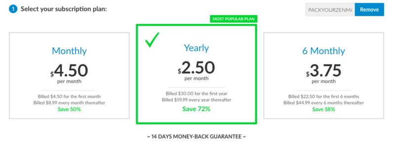 ZenMate Price