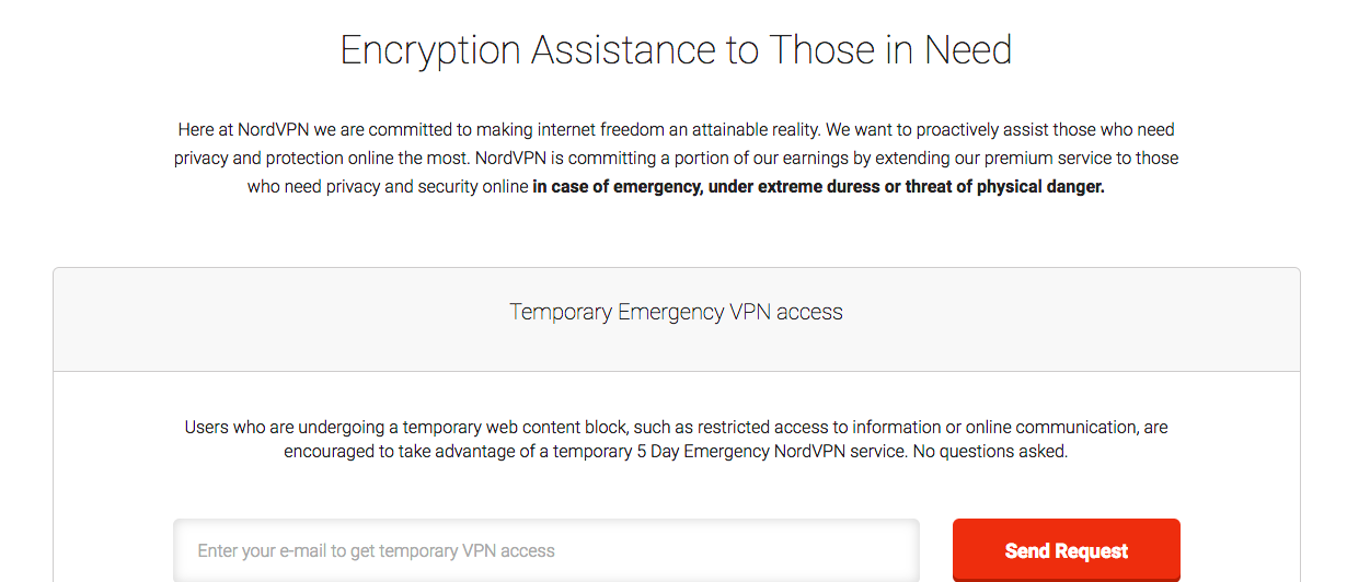 temporary-emergency-nordvpn-access