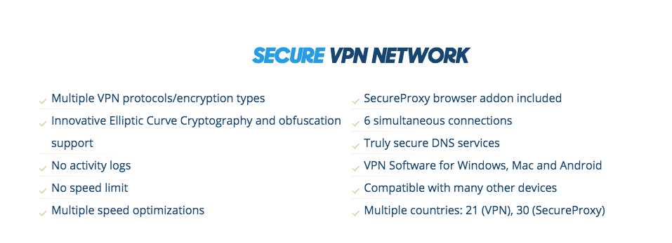 VPN.ac review and features