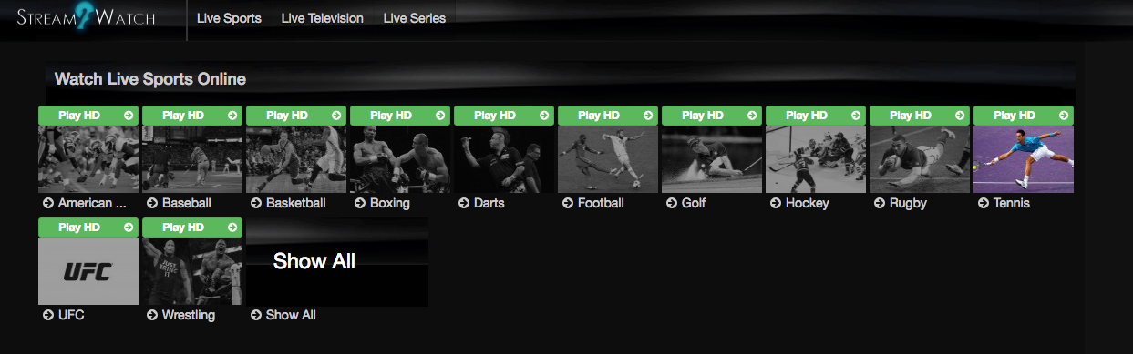 Live Sports Streaming Websites | Watch Sports Online