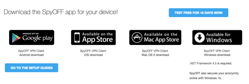 Download SpyOff VPN Service
