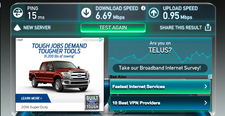 Test to Increase VPN Speed