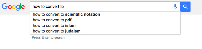 google-suggestions