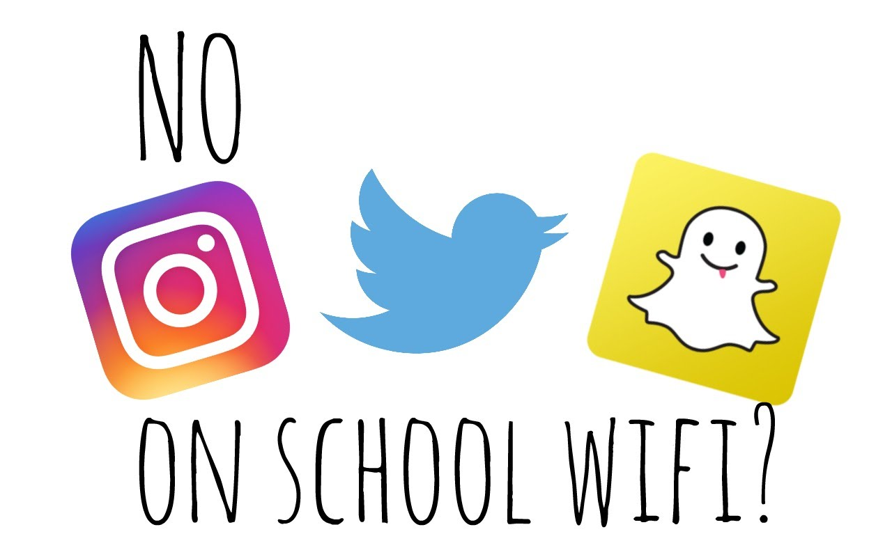 Unblock websites at school, access Instagram, Twitter, Snapchat and more