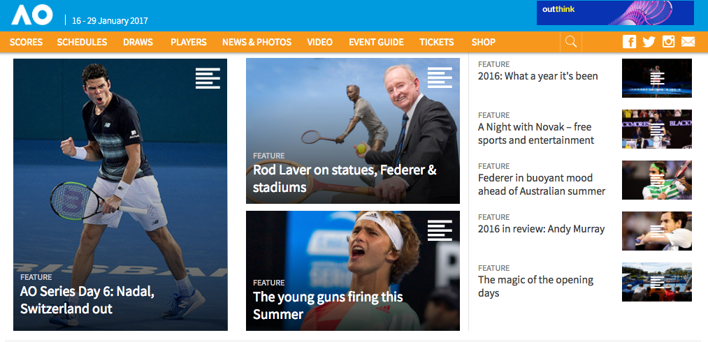 Watch Australian Open online