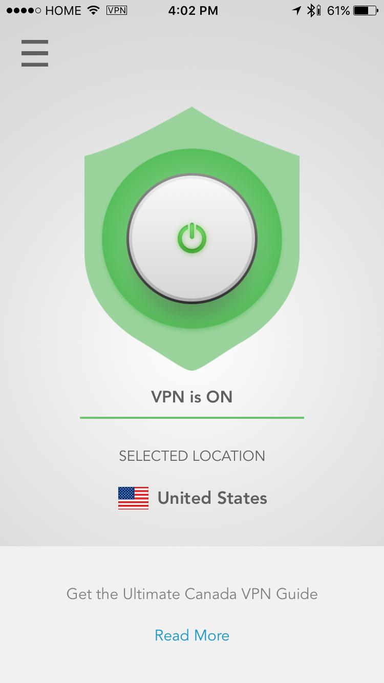 VPN Mobile Screenshot