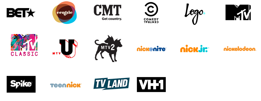 Watch Viacom channels online