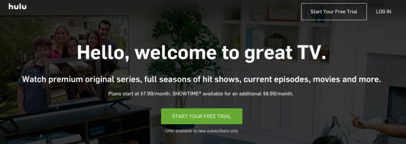 Hulu Video Without Cable Subscription