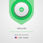 ExpressVPN connected