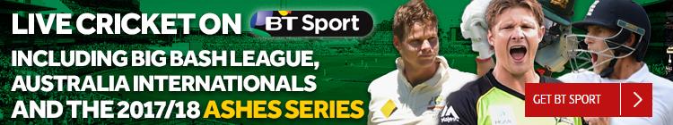 Live Cricket on BT Sport