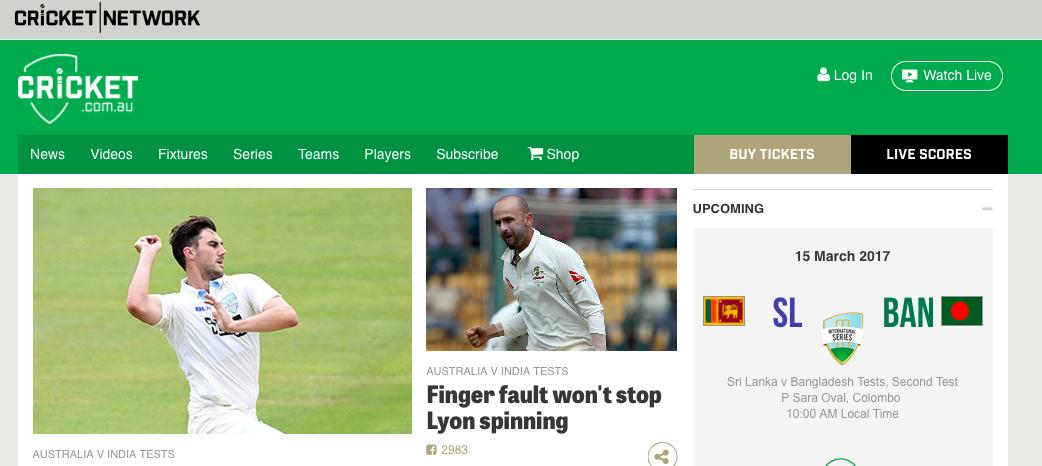 Watch Australian Cricket Online