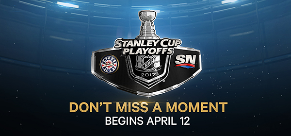 Watch NHL Playoffs on SN and Hockey Night in Canada