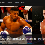 Watch Joshua vs Klitschko on HBO
